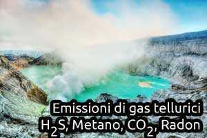 gas tellurici gas pericolosi sottosuolo