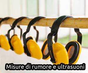 misure rumore ultrasuoni