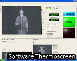 thermoscreen controllo febbre epidemie software