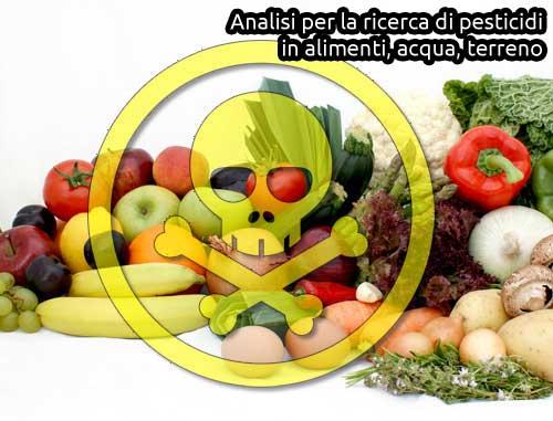 analisi pesticidi alimenti agricoltura laborad