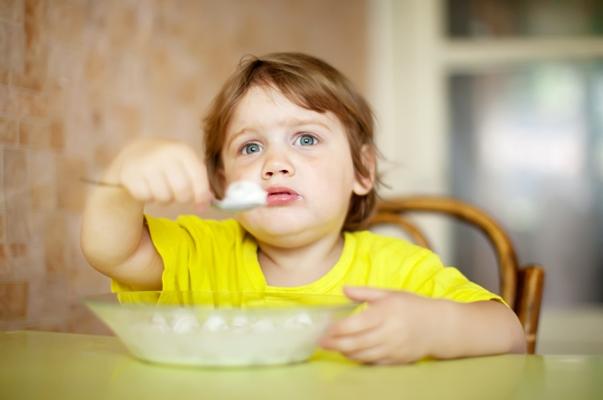 cibo sano bambino