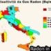 Monitoraggio del Gas Radon negli edifici e nei materiali